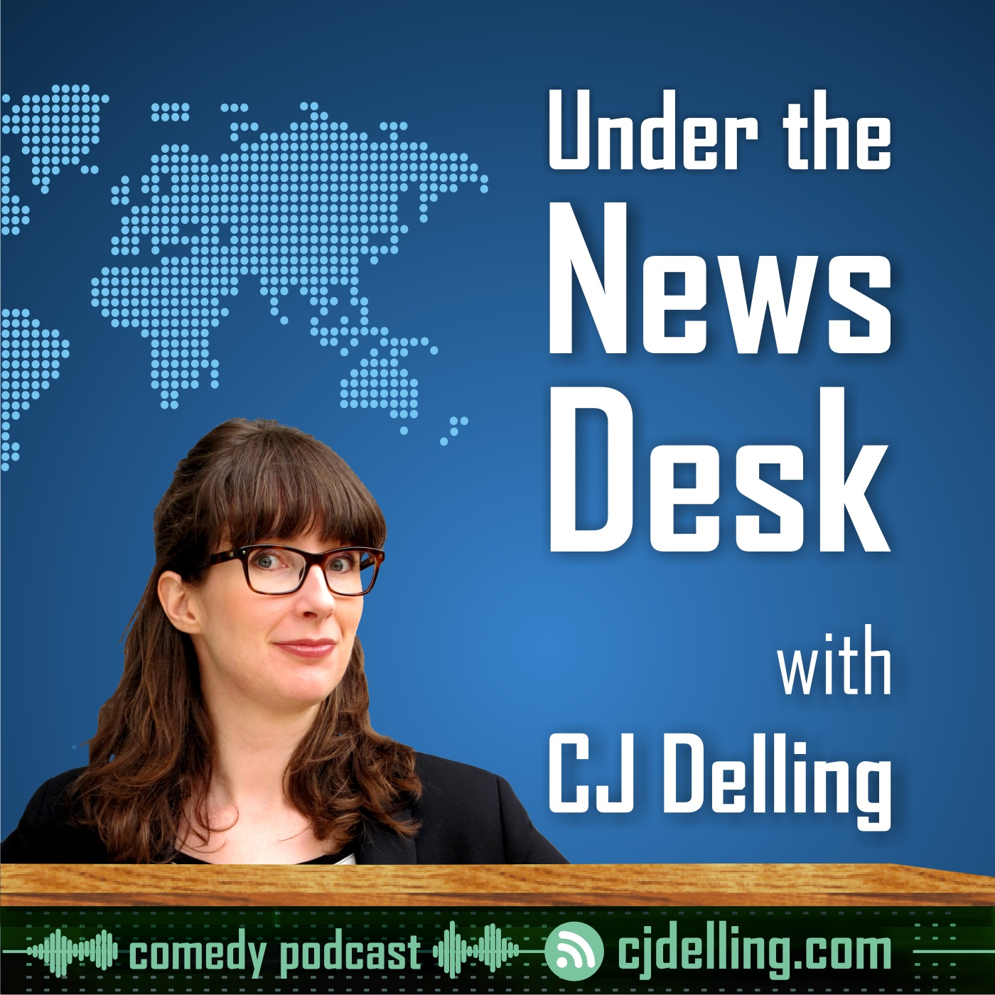 Under the News Desk with CJ Delling